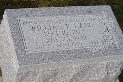 William P. Lang