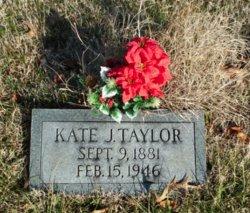Kate Jane <I>Legates</I> Taylor