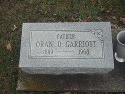 Oran Dale Garriott