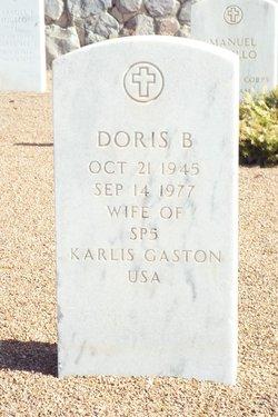 Doris B Gaston