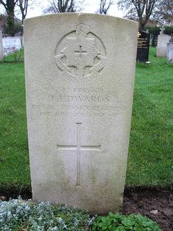 Pvt John Edwards