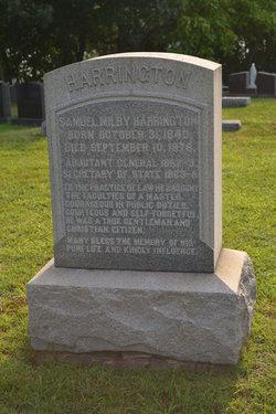 Samuel Milby Harrington