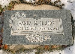 Wanda Mary <I>Jensen</I> de St. Jeor