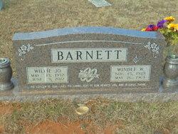 Willie Jo Barnett
