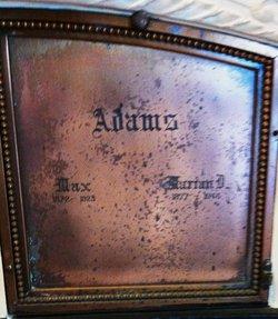 Marrian D Adams