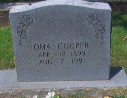 Oma Jane <I>Lawrence</I> Cooper