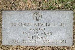 Pvt Harold Kimball, Jr