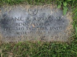 Frank Ray Adams, Sr