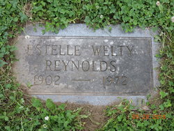 Estelle <I>Welty</I> Reynolds