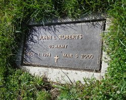 """John Lennis """"Jack"""" Roberts"""
