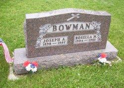 "rosella marie ""rose"" <I>hoff</I> bowman"