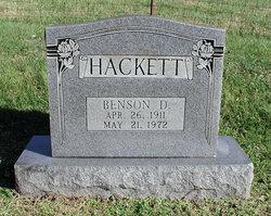 Benson D Hackett