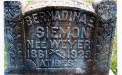 Bernardina <I>Weyer</I> Siemon