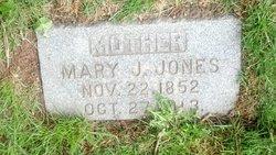 Mary E. <I>Watson</I> Jones