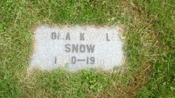 Thomas Knowles Snow