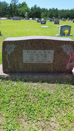 Bessie Pearl Duke Box (1878-1957) - Find A Grave Memorial