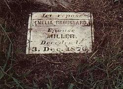 Emelia <I>Broussard</I> Miller