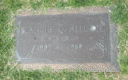 Blanche Clara <I>Scott</I> Allison