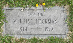 M Luise Heckman