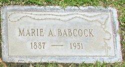 Marie A. <I>Trecker</I> Babcock