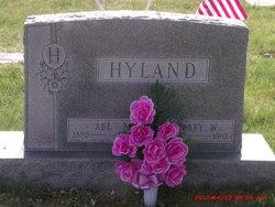 Mary W. <I>Rowell</I> Hyland