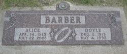 Alice Rose <I>Feezor</I> Barber