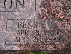 Bessie L. <I>Francis</I> Allington
