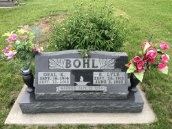 Opal K Rogge Bohl 1914 2013 Find A Grave Memorial