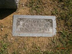 Emma M <I>Kramer</I> Dickhaut