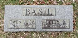 Owen A Basil, Sr