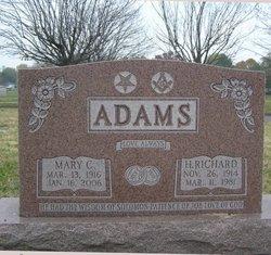 Mary C. <I>Bishoff</I> Adams