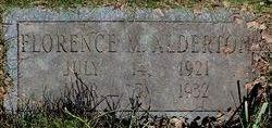 Florence M. Alderton