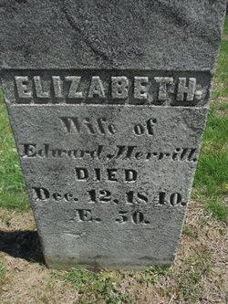 Elizabeth <I>Googins</I> Merrill