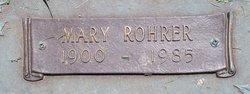 Mary <I>Rohrer</I> Gummo