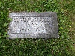Susan <I>Colwell</I> Hadden