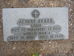 Albert Henry Ekker, Jr