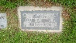 Pearl Dora <I>Jones</I> Howell