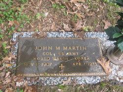 Col John M Martin