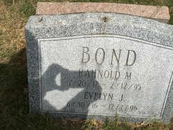 Evelyn Jewell <I>Johnson</I> Bond