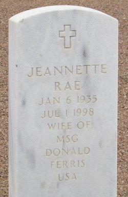 Jeannette Rae Ferris