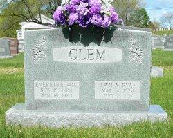 Twila <I>Ryan</I> Clem