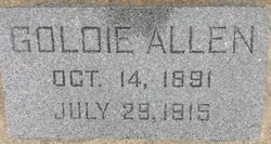 Goldie Irene <I>Coons</I> Allen