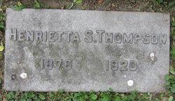 Henrietta <I>Shoemaker</I> Thompson