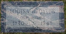 Louisa <I>Lemasters</I> Broyles