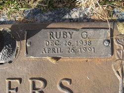 Ruby Faye <I>Godley</I> Waters