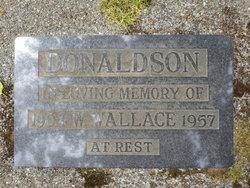 William Wallace Donaldson