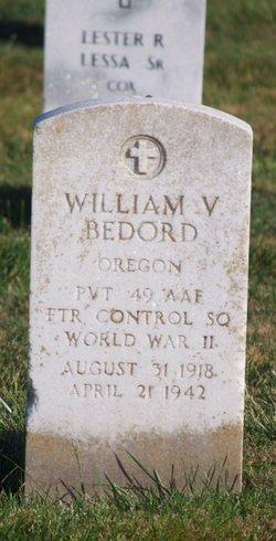 Pvt William V Bedord