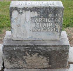 Harriet Isabel <I>Beeman</I> Blain