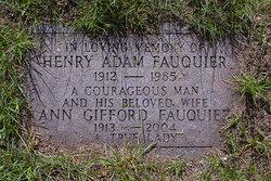 Henry Adam Fauquier