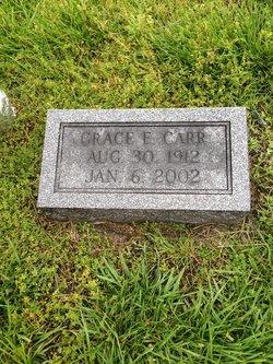 Grace Elizabeth <I>Oster</I> Carr